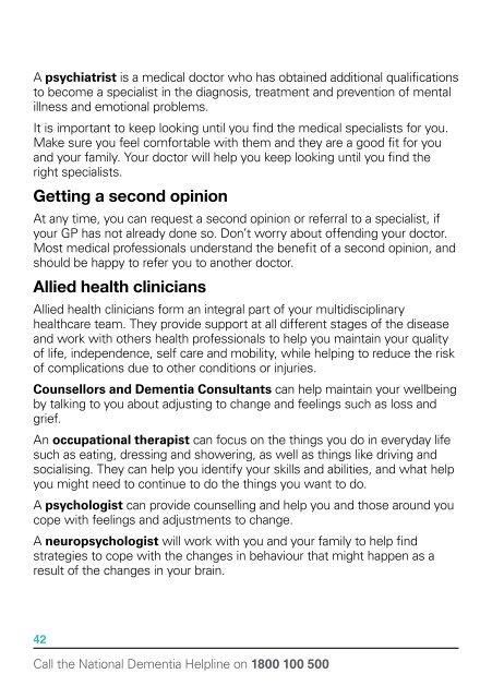 Alzheimer's Australia Vic  | The Dementia Guide