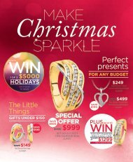 Showcase Jewellers December 2016 Christmas Catalogue