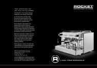 the creation of an italian classic - Rocket Espresso