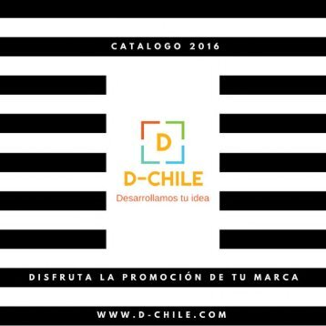 Catálogo 2016 D-Chile