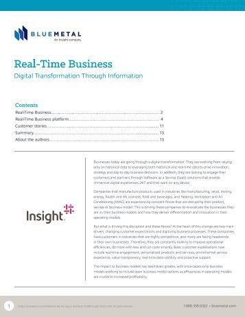 Real-Time Business