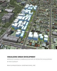 Visualizing Urban Development: Improved Planning & Communication with 3D Interactive Visualizations