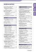 Sony NWZ-S639F - NWZ-S639F Istruzioni per l'uso Tedesco - Page 4