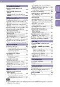 Sony NWZ-S639F - NWZ-S639F Istruzioni per l'uso Spagnolo - Page 5