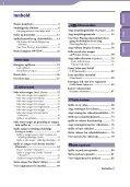 Sony NWZ-S639F - NWZ-S639F Istruzioni per l'uso Norvegese - Page 4