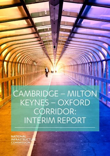 CAMBRIDGE – MILTON KEYNES – OXFORD CORRIDOR INTERIM REPORT