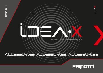 PRIMATO 8 accessories