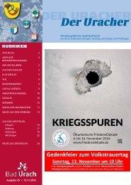 Der Uracher KW 45-2016