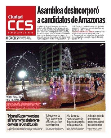 a candidatos de Amazonas
