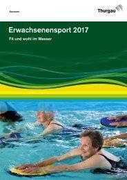 Erwachsenensport 2017 - Fit und wohl im Wasser