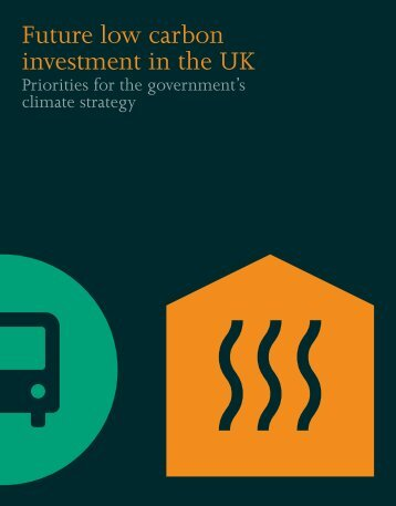 Future low carbon investment in the UK