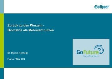 Biometrie als Mehrwert nutzen - Gothaer Makler-Portal