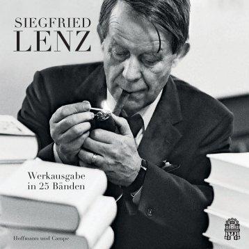 Siegfried Lenz - Werkausgabe in 25 Bänden