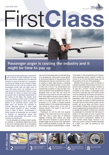 First Class Issue 1 2016