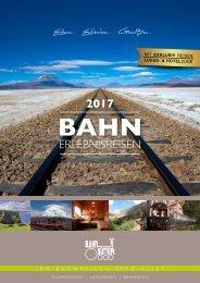 Bahnreisen Sutter Katalog 2017
