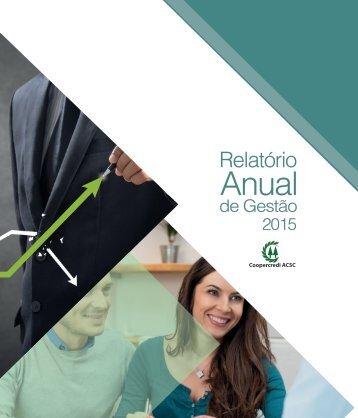 Relatório de Gestão 2015 - Coopercredi ACSC