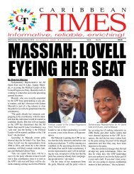 Caribbean Times 37th Issue - Wednesday 16th November 2016