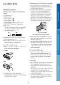 Sony DCR-SX22E - DCR-SX22E Istruzioni per l'uso Svedese - Page 3