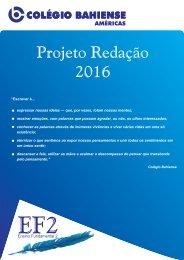 Projeto Redação 2016 - AME EF2