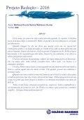 Projeto Redação 2016 - AME EF2 - Page 5