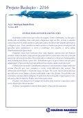 Projeto Redação 2016 - AME EF2 - Page 6