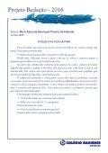 Projeto Redação 2016 - AME EF2 - Page 7