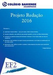 Projeto Redação 2016 - JPA EF2