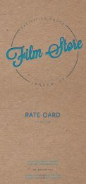 Film Store Rate Card 2.1