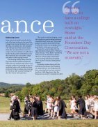 Sweet Briar College Magazine - Fall 2016 - Page 7
