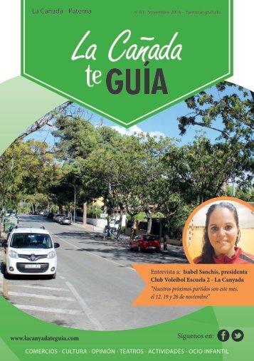 Revista de Noticias la Canyada y Paterna 001 (Noviembre 2016)