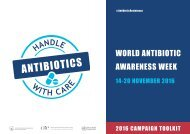 WORLD ANTIBIOTIC AWARENESS WEEK