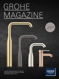 LUXURY BATHROOMS KITCHENS ARCHITECTURE & WATER STORIES WINTER EDITION 2016