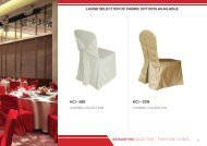 Chair Covers & Table Cloths