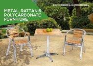 Metal, Rattan & Polycarbonate Furniture