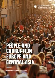 people and corruption europe and central asia