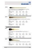 Vergolderpinsel Spezialpinsel – Katalog 2016 - Seite 3