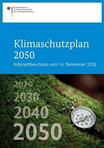Klimaschutzplan 2050