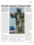 Våldet i Mali pressar FN - Page 5