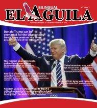 El Aguila Magazine – November 16, 2016