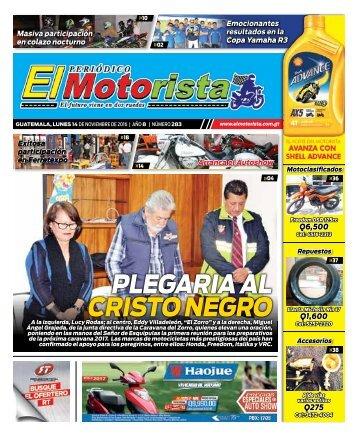 ELMOTORISTA Edicion 14 Noviembre