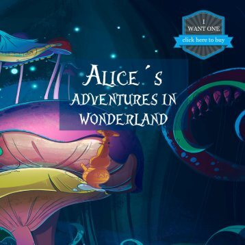 Alice´s Adventures in Wonderland personalized book