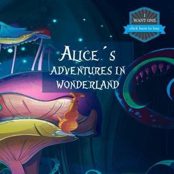 Alice´s Adventures in Wonderland personalized book