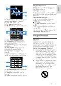 Philips 3500 series Téléviseur LED avec application YouTube - Mode d'emploi - SWE - Page 5