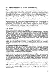 6.5.5 Handlungsfeld: Erhalt, Schutz und Pflege von Umwelt und ...