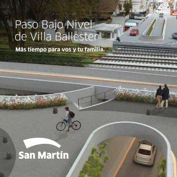 Paso Bajo Nivel de Villa Ballester