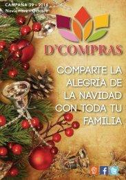 Catálogo D'Compras Noviembre Diciembre 2016