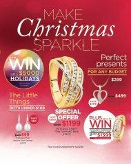 Showcase Jewellers December 2016 Christmas Catalogue (New Zealand)