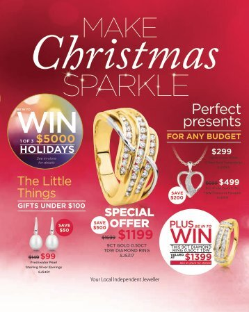 Showcase Jewellers December 2016 Christmas Catalogue (New Zealand)