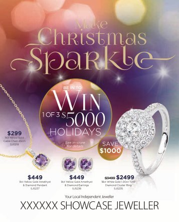 Showcase Jewellers 2016 Christmas Catalogue (New Zealand)