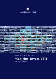 Beitrittserklärung MARITIM INVEST VIII